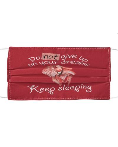 flamingo sleep