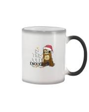 Sloth is this jolly enough Color Changing Mug thumbnail
