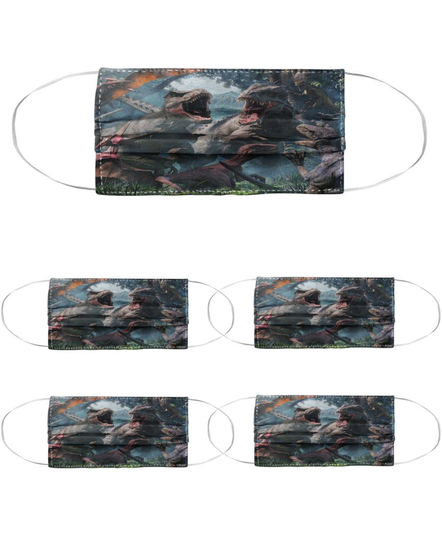 T Rex 16 Cloth Face Mask - 5 Pack