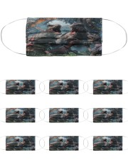 T Rex 16 Cloth Face Mask - 10 Pack front