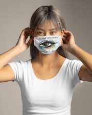 I See Your True Color Cloth face mask aos-face-mask-lifestyle-16