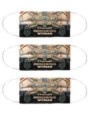 Strong indigenous woman face mask Cloth Face Mask - 3 Pack front