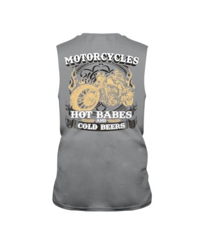 Motorcycle Hot Babes Cold Beers Biker