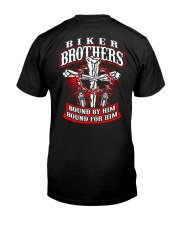 Jesus Motorcycle Cross Biker Brothers Classic T-Shirt thumbnail