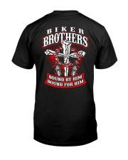 Jesus Motorcycle Cross Biker Brothers Premium Fit Mens Tee thumbnail