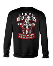 Jesus Motorcycle Cross Biker Brothers Crewneck Sweatshirt thumbnail
