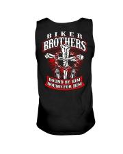 Jesus Motorcycle Cross Biker Brothers Unisex Tank thumbnail