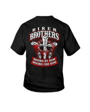 Jesus Motorcycle Cross Biker Brothers Youth T-Shirt thumbnail