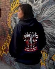 Jesus Motorcycle Cross Biker Brothers Hooded Sweatshirt lifestyle-unisex-hoodie-back-1