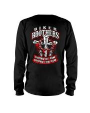 Jesus Motorcycle Cross Biker Brothers Long Sleeve Tee thumbnail