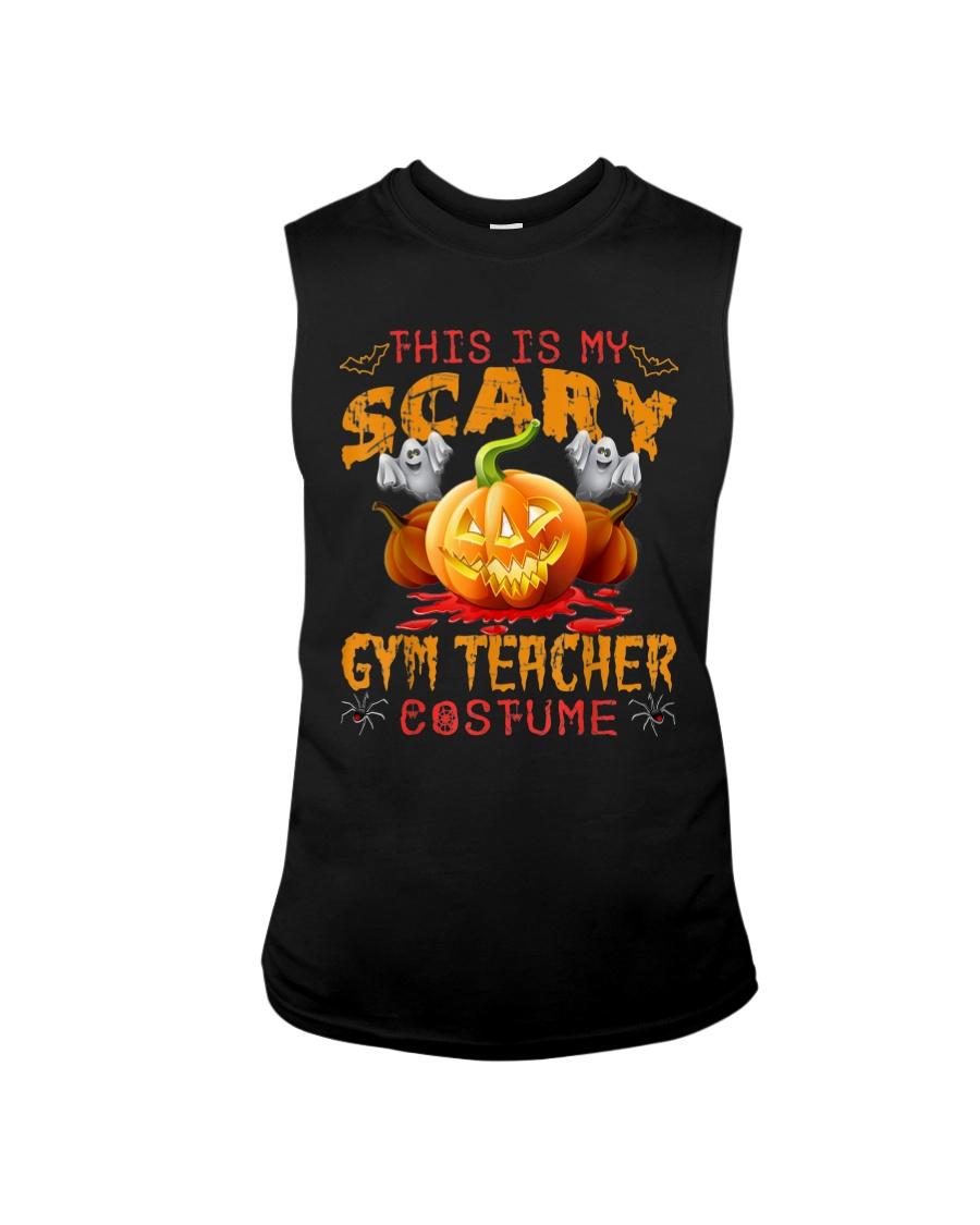 This Is My Scary Gym Teacher Costume T-shirt  Sleeveless Tee