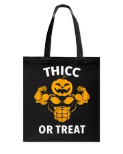 Trick or Treat Funny Halloween Men Women Gym Body Tote Bag thumbnail