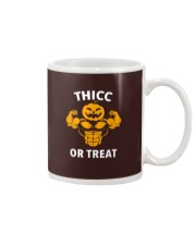Trick or Treat Funny Halloween Men Women Gym Body Mug thumbnail
