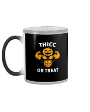 Trick or Treat Funny Halloween Men Women Gym Body Color Changing Mug color-changing-left