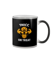 Trick or Treat Funny Halloween Men Women Gym Body Color Changing Mug color-changing-right