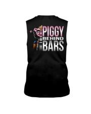 Motorycycle Hog Biker Leather Piggy Bars Sleeveless Tee thumbnail