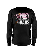 Motorycycle Hog Biker Leather Piggy Bars Long Sleeve Tee thumbnail