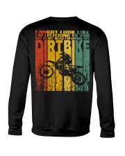 In My Head I'm Riding My Dirt Bike Crewneck Sweatshirt thumbnail