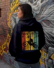 In My Head I'm Riding My Dirt Bike Hooded Sweatshirt lifestyle-unisex-hoodie-back-1