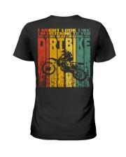 In My Head I'm Riding My Dirt Bike Ladies T-Shirt thumbnail