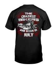 July Birthday Motorcycle Classic T-Shirt thumbnail