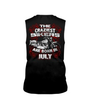 July Birthday Motorcycle Sleeveless Tee thumbnail