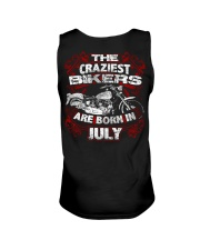 July Birthday Motorcycle Unisex Tank thumbnail