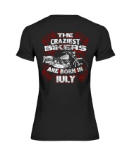 July Birthday Motorcycle Premium Fit Ladies Tee thumbnail