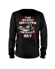July Birthday Motorcycle Long Sleeve Tee thumbnail