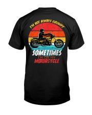 Sometimes I'm On My Motorcycle Retro Premium Fit Mens Tee thumbnail