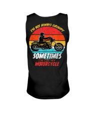 Sometimes I'm On My Motorcycle Retro Unisex Tank thumbnail