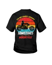 Sometimes I'm On My Motorcycle Retro Youth T-Shirt thumbnail
