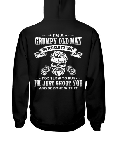 I'm a grumpy old man I'm too old