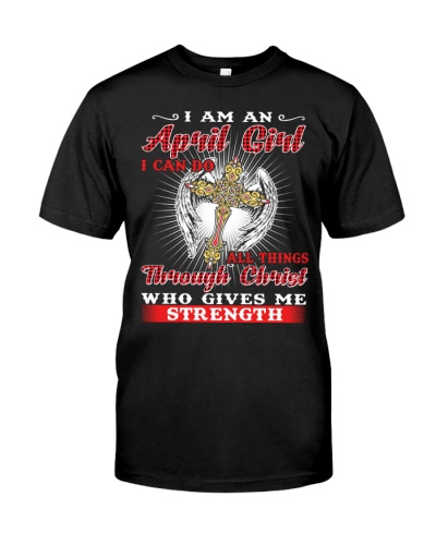 I Am An April Girl I Can Do All Things