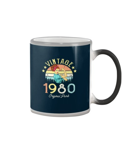 Vintage 1980 Made in 1980 40th birthday