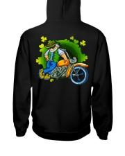 Irish Motorcycle Shirt Biker Hooded Sweatshirt back