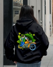 Irish Motorcycle Shirt Biker Hooded Sweatshirt lifestyle-unisex-hoodie-back-2