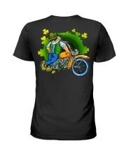 Irish Motorcycle Shirt Biker Ladies T-Shirt thumbnail