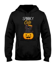 Spooky Cute Black Cat Halloween Pumpkin T-Shirt Hooded Sweatshirt thumbnail