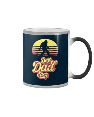Vintage Best Dad Ever Funny Bigfoot