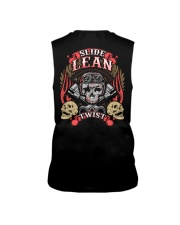 Slide Lean Twist Cool Skull Biker Motorcycle Sleeveless Tee thumbnail