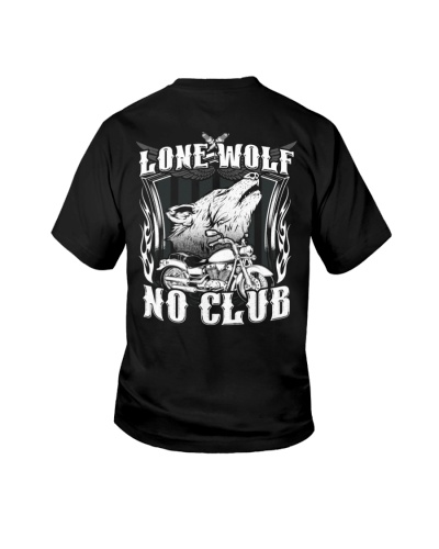 Lone Wolf No Club Motorcycle
