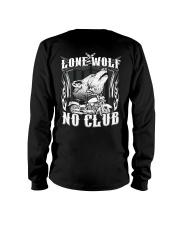 Lone Wolf No Club Motorcycle Long Sleeve Tee thumbnail