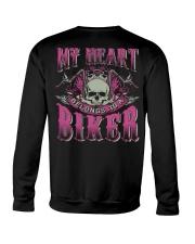 Motorcycle Wife Biker Crewneck Sweatshirt thumbnail
