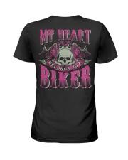Motorcycle Wife Biker Ladies T-Shirt thumbnail
