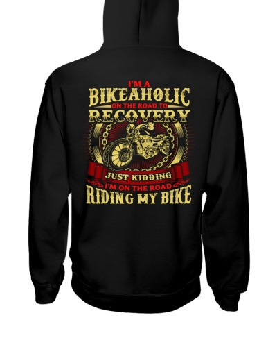 Bike Aholic Road To Recover Biker Motorcycle