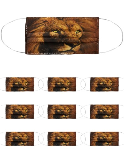 The Mountain Big Face Lion - Get Yours