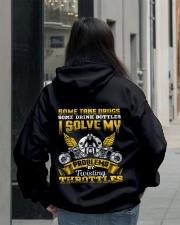 Solve My Problems Twisting Throttles Biker Hooded Sweatshirt lifestyle-unisex-hoodie-back-2