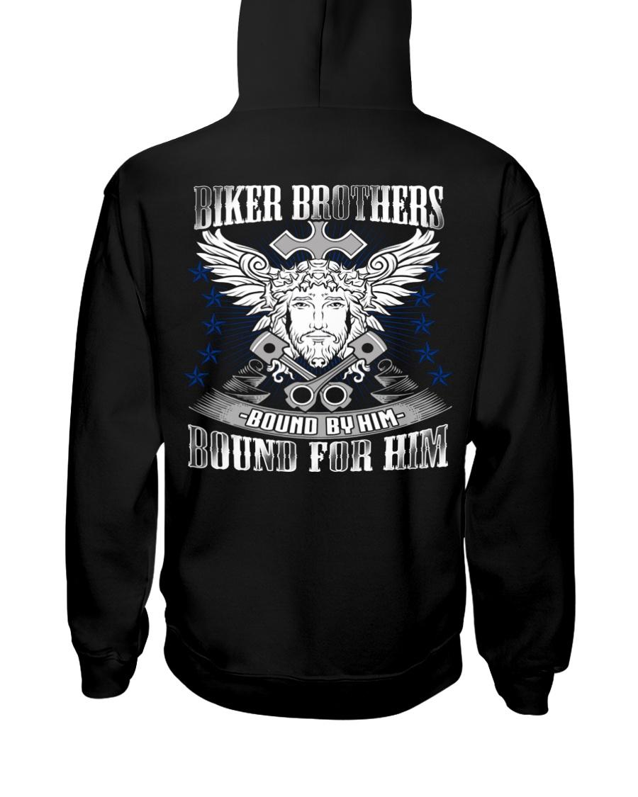 Jesus Motorcycle Hooded Sweatshirt