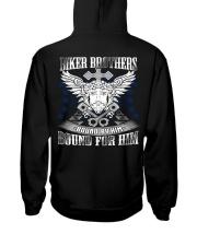 Jesus Motorcycle Hooded Sweatshirt back